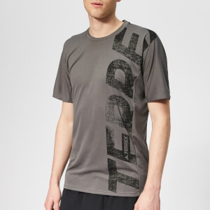 adidas Men's Terrex Trail Cross Short Sleeve T-Shirt - Grey Five