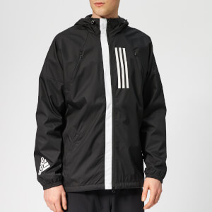 adidas Men's W.N.D. Full Zip Jacket - Black
