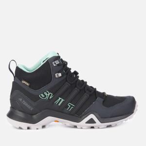 adidas Women's Terrex Swift R2 Mid Hiking Boots - Black