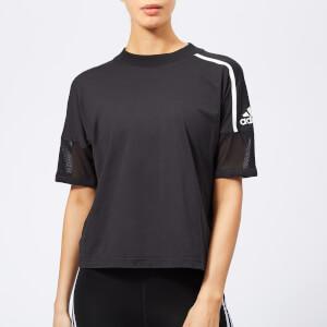 adidas Women's Z.N.E. Short Sleeve T-Shirt - Black
