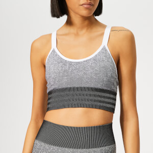 adidas Women's All Me Seamless Bra - Black/White