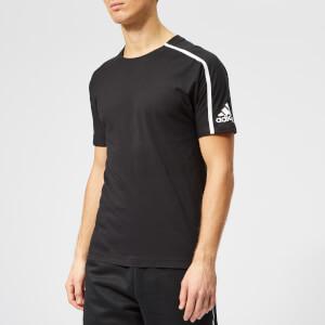 adidas Men's Z.N.E. Short Sleeve T-Shirt - Black