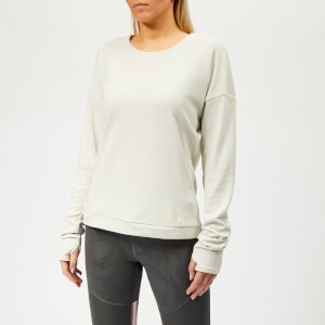 adidas Women's Supernova Run Crew Neck Top - White