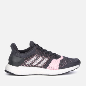 adidas Women's Ultraboost ST Trainers - Carbon/FTW White/Grey Six