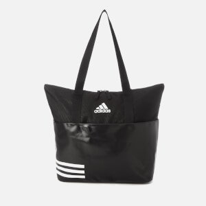 adidas Women's 3 Stripe Tote Bag - Black