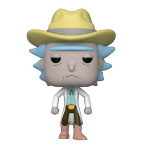Figurine Pop Rick Western EXC Rick & Morty