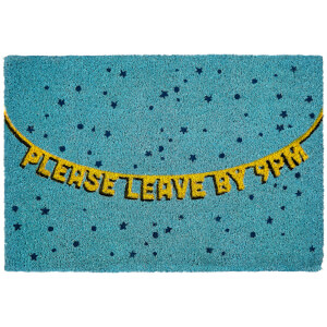 Premier Housewares Please Leave By 9pm Doormat