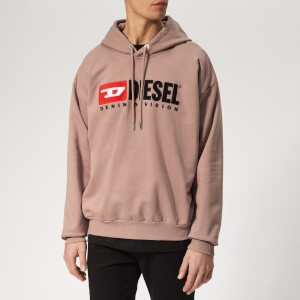 Diesel Men's Division Overhead Hoodie - Pink