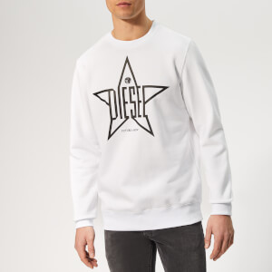 Diesel Men's Gir Sweatshirt - White
