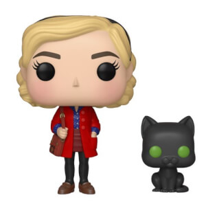 The Chilling Adventures of Sabrina Sabrina with Salem Funko Pop! Figuur