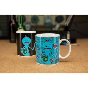 Taza termosensible Señor Meeseeks Rick y Morty