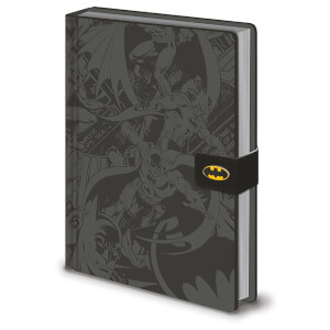 DC Originals (Batman Montage) A5 Premium Notebook