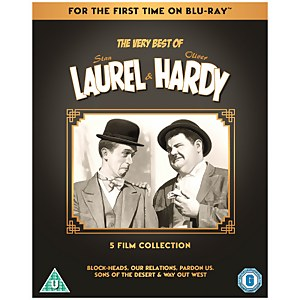 The Very Best Of Laurel & Hardy: 5-Film Collection