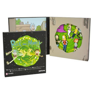 Official Rick and Morty Pin Badge Set