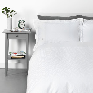 in homeware Broken Chevron Duvet Set - Waffle