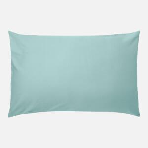 in homeware 200 Thread Count 100% Cotton Pillowcase Pair - Duck Egg
