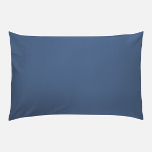 in homeware 200 Thread Count 100% Cotton Pillowcase Pair - Blue