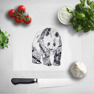 Tattooed Panda Chopping Board