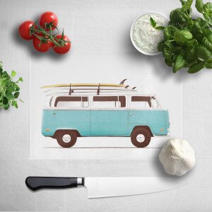 Blue Van Chopping Board