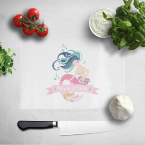 Mermaid Vibes Chopping Board