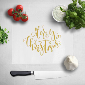 Merry Christmas Chopping Board