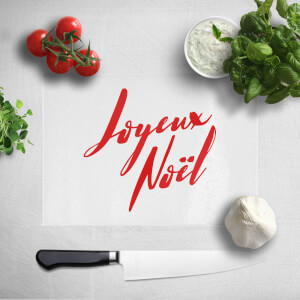 Joyeux Noel Chopping Board