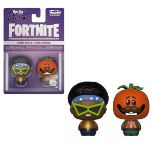 Funko Fortnite Pint Size Heroes Funk Ops and Tomatohead 2-Pack