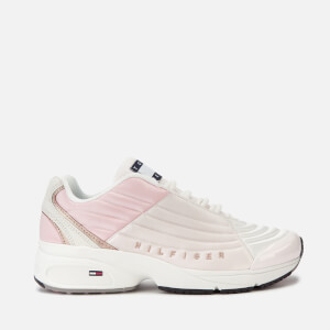 Tommy Jeans Women's Heritage Runner Style Trainers - Delicacy