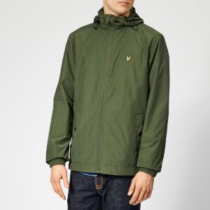 Lyle & Scott Men's Zip Through Hooded Jacket - Woodland Green