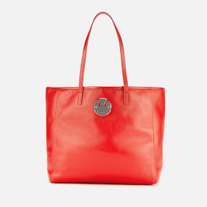 Hill & Friends Women's Small Slouchy Tote Bag - Big Apple Red