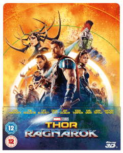 Thor: Ragnarok 3D (incluye Blu-ray 2D) - Steelbook Edición Lenticular Exclusivo de Zavvi (Edición UK)