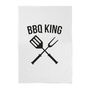 BBQ King Cotton Tea Towel