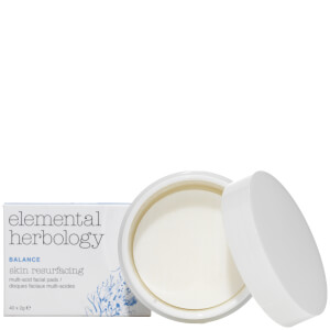 Elemental Herbology AHA Multi Acid Skin Re-Surfacing Pads płatki do twarzy