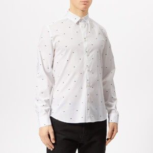 KENZO Men's All Over Eye Shirt - White