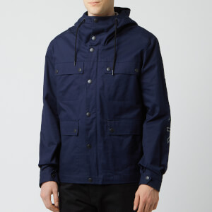 KENZO Men's Parka Coat - Midnight Blue
