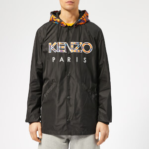 KENZO Men's Logo Coat - Black