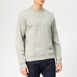 KENZO Men's Back Logo Sweatshirt - Pearl Grey