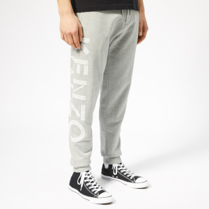 KENZO Men's Logo Sweatpants - Pearl Grey