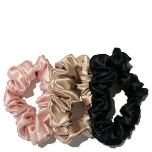 Chouchous Large Scrunchies Slip (lot de 3) – Multi