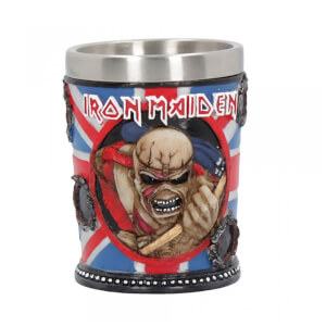 Iron Maiden 'The Trooper' Shot Glass