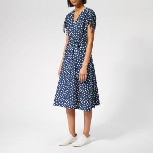 A.P.C. Women's Clare Dress - Blue