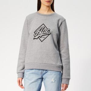 A.P.C. Women's Kimberley Sweatshirt - Grey