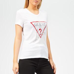Guess Women's Icon T-Shirt - True White