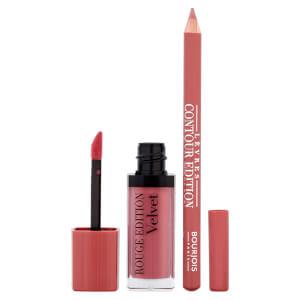 Набор для макияжа губ Bourjois Lip Kit - Nude-ist