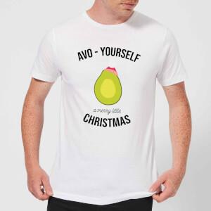 Avo-Yourself A Merry Little Christmas Men's Christmas T-Shirt - White