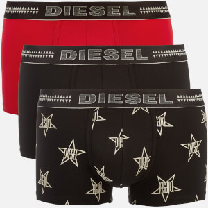 Diesel Men's Damien Three Pack Boxer Shorts - Multi