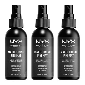 NYX Professional Makeup Matte Setting Spray x 3 (Worth £21.00)