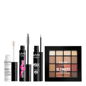 NYX Professional Makeup Worth the Hype Ultimate Neutrals Eye Kit (Worth £38.00)