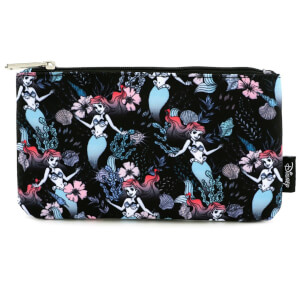 Loungefly Disney The Little Mermaid Ariel Floral Aop Pencil Case