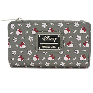 Disney Loungefly Cartera Con Cremallera Minnie Mouse